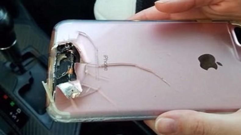 """""""iSchutzweste"""" in Las Vegas: iPhone stoppt Kugel und rettet Leben seiner Besitzerin [FOTO]"""