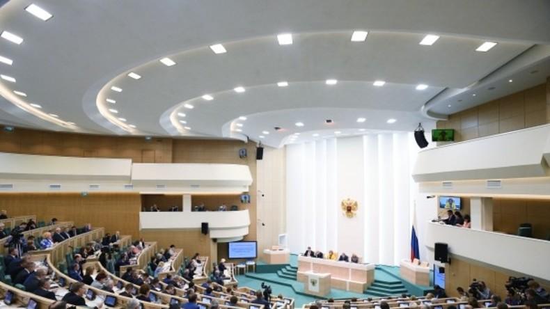 Föderationsratssitzung erörtert US-Maßnahmen gegen RT und mögliche Gegenmaßnahmen