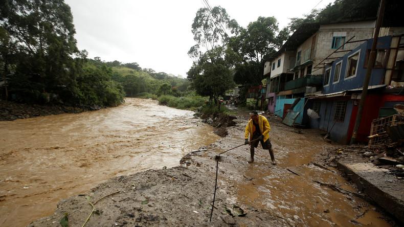 """Tropensturm """"Nate"""" in Mittelamerika fordert mindestens 22 Menschenleben"""