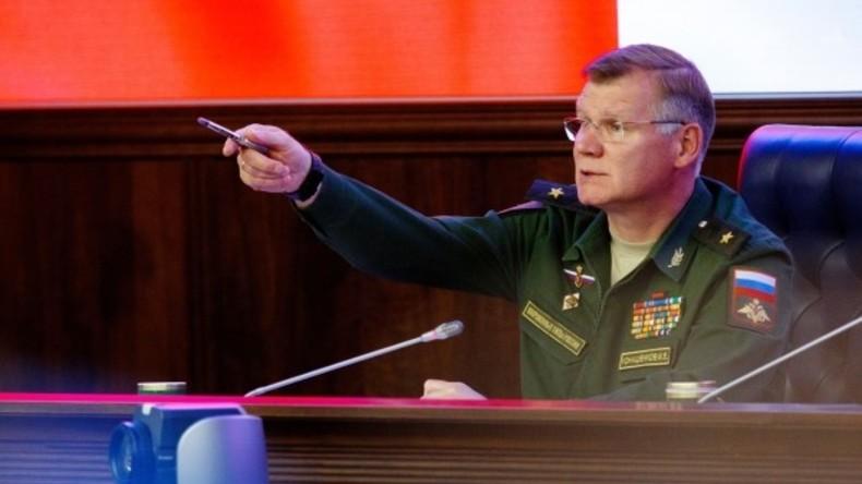 """Russisches Militär: US-Stützpunkt in Syrien wird zum 100 Kilometer breiten """"Schwarzen Loch"""""""