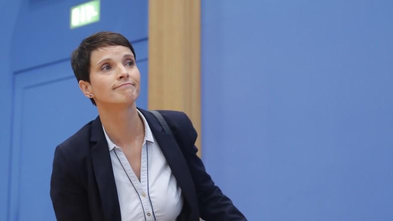 Die AfD wirft ihrer Ex-Vorsitzenden Petry Datenklau vor