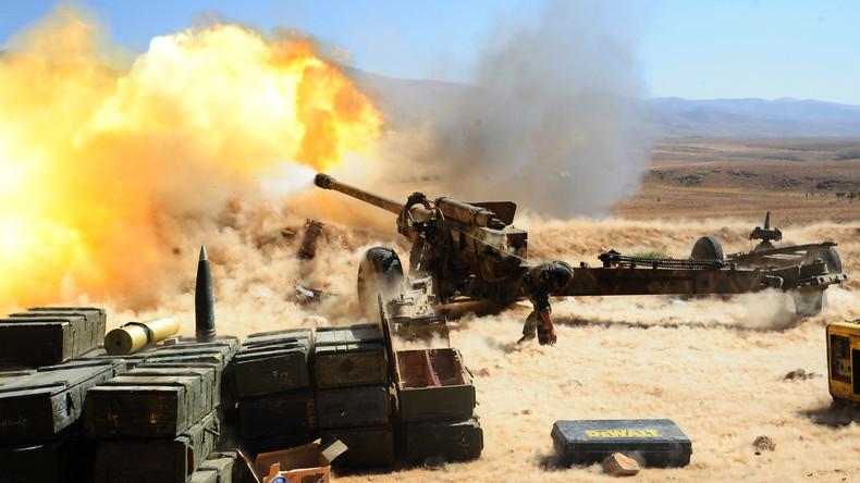 IS-Kämpfer kontrollieren nur noch 10 Prozent syrischen Territoriums