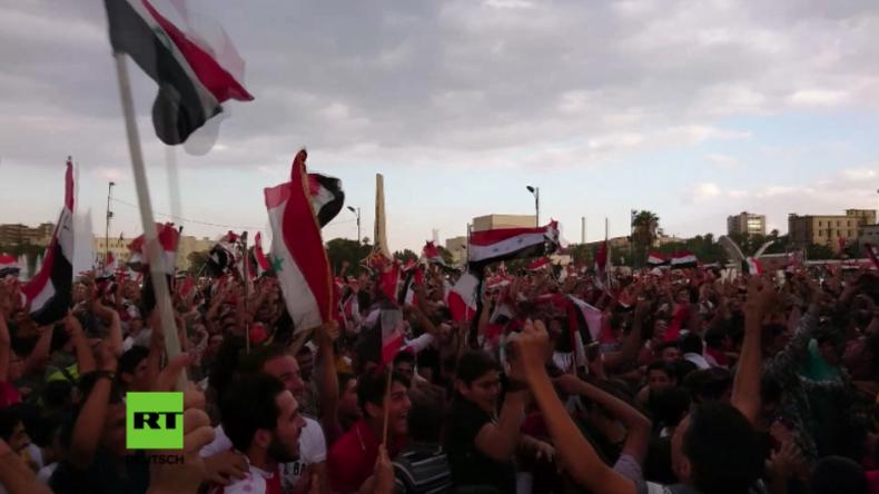 Syrien: Große Hoffnung auf WM – Fußballfans außer sich vor Freude nach Spiel gegen Australien