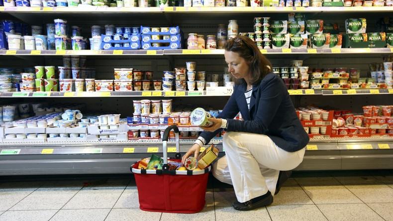 Verunreinigte Joghurts in Supermärkten - Polizei fasst Verdächtigen