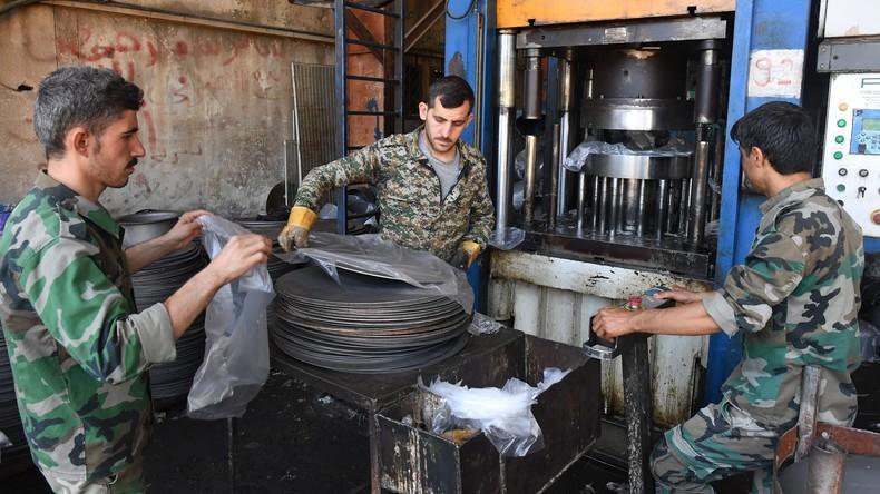 Aleppo startet wieder Produktion von Solaranlagen