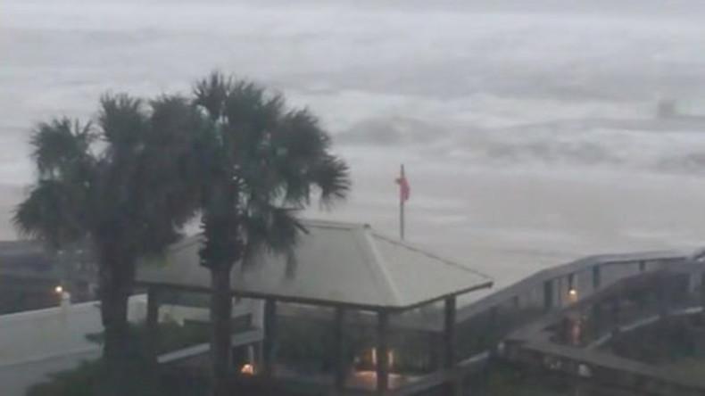 """Hurrikan """"Nate"""" trifft zweites Mal auf US-Festland"""