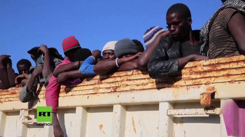 Libyen: Über 3.000 Migranten aufgegriffen und verhaftet