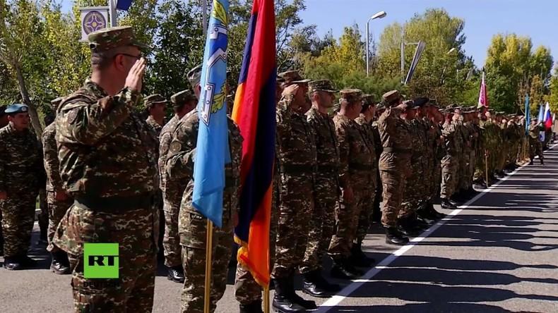 Armenien: Poisk-2017 Übungen in Bagramyan beendet