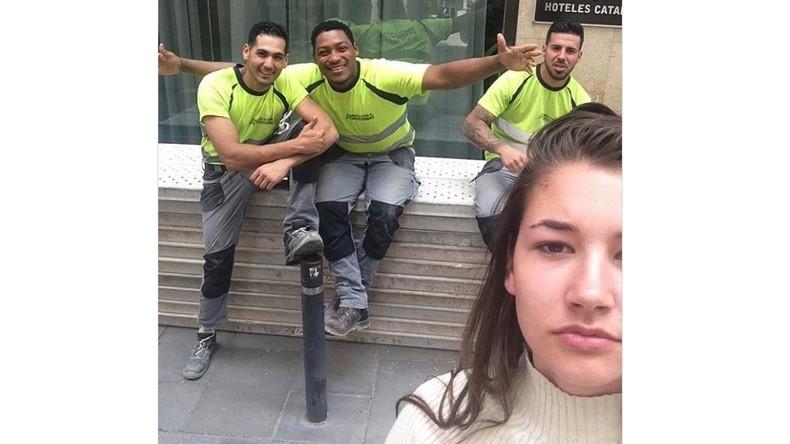 Selfies gegen aggressive Flirts: Studentin veröffentlicht Fotos mit aufdringlichen Männern