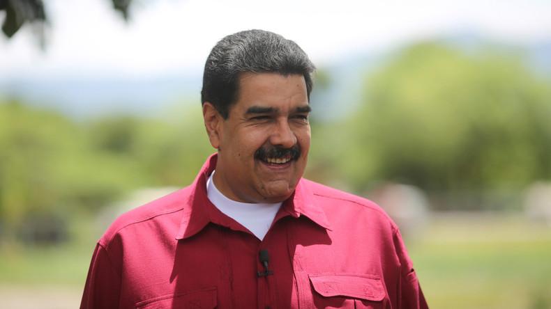 Venezuelas Präsident Maduro dankt Trump: Er hat mich weltberühmt gemacht