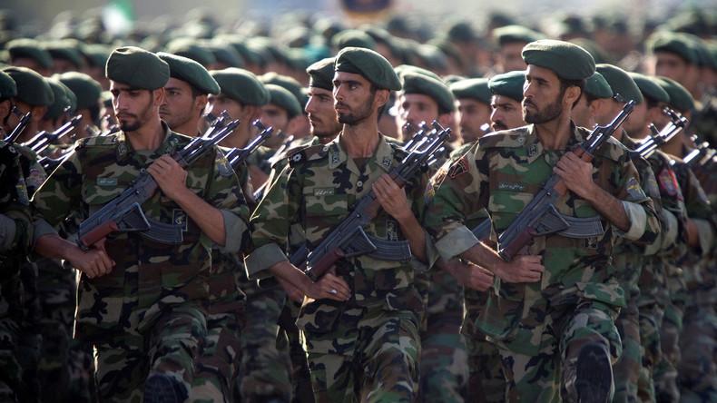 """Revolutionsgarde als Terrorgruppe? Iran droht: """"Könnten US-Armee wie IS-Terroristen behandeln"""""""