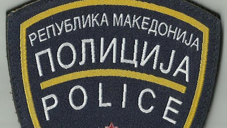 Ein mit 14 Migranten vollgepackter Audi A6 in Mazedonien angehalten