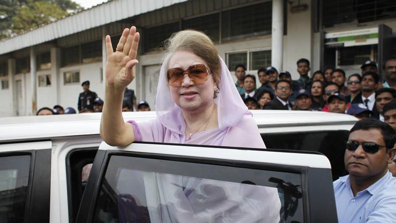 Haftbefehl gegen Ex-Premierministerin von Bangladesch wegen Anstiftung zu Gewalt