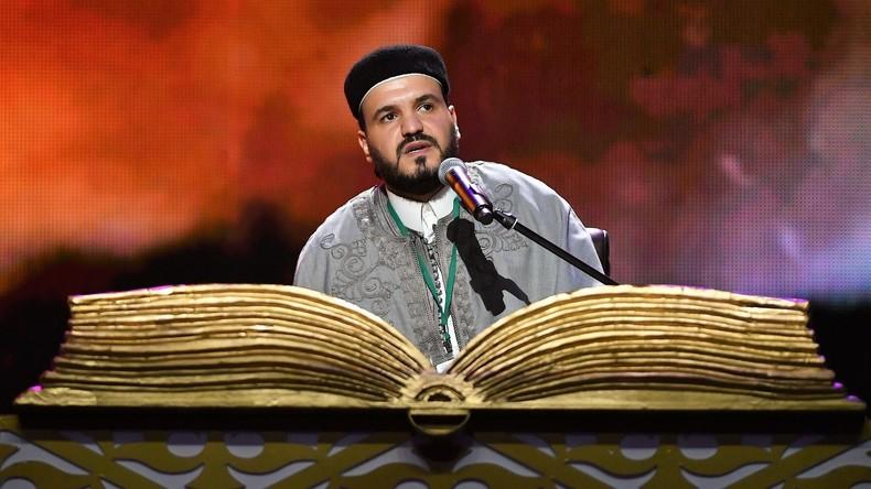 Koran-Vorleser machen Moskau zum Zentrum der islamischen Welt