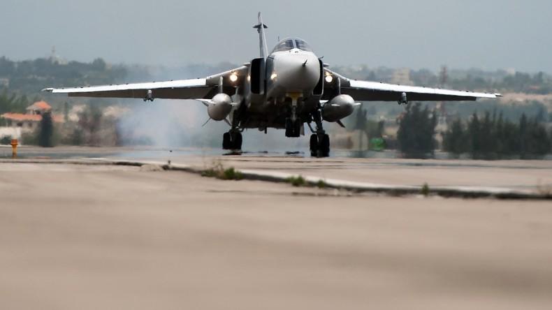Russischer Bomber Su-24 in Syrien verunglückt, Besatzung tot