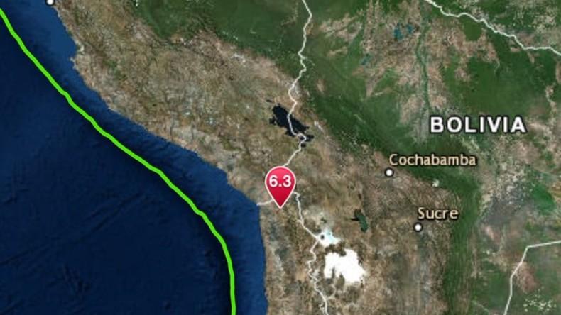 Chile: Norden von kräftigem Erdbeben erschüttert