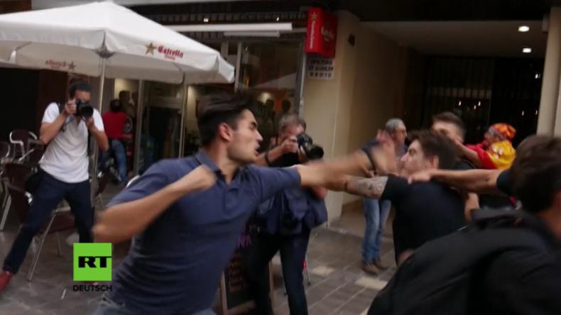 Spanien: Prügelszenen bei Pro-Autonomiemarsch in Valencia
