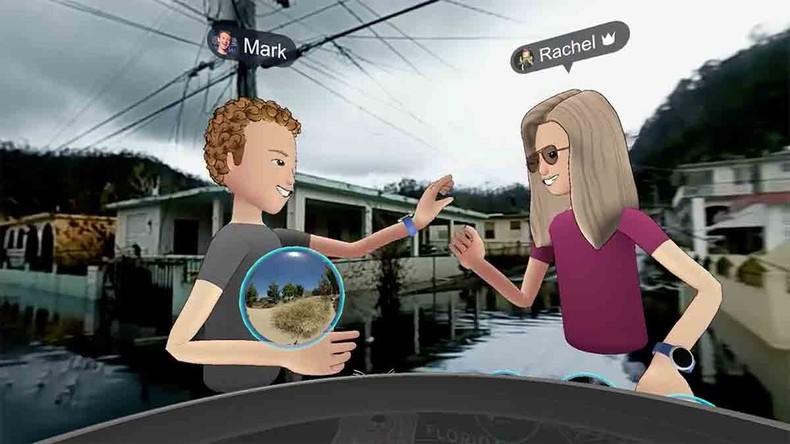 Facebook-Chef Zuckerberg besucht als Avatar zerstörtes Puerto Rico – um für eine App zu werben