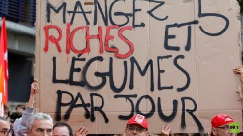 LIVE: Gewerkschaften protestieren in Paris gegen geplante Arbeits- und Steuerreform