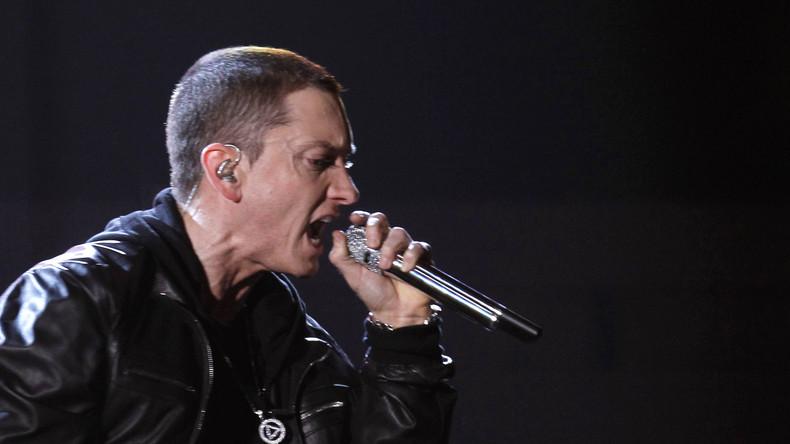 "Skandal um Eminems Rap gegen den ""rassistischen Opa"" Trump"