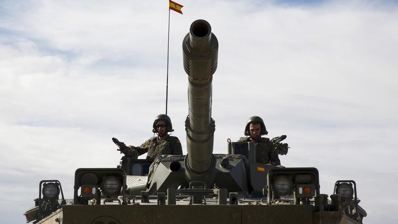 Katalonien-Krise: Spanisches Militär bereit für Intervention