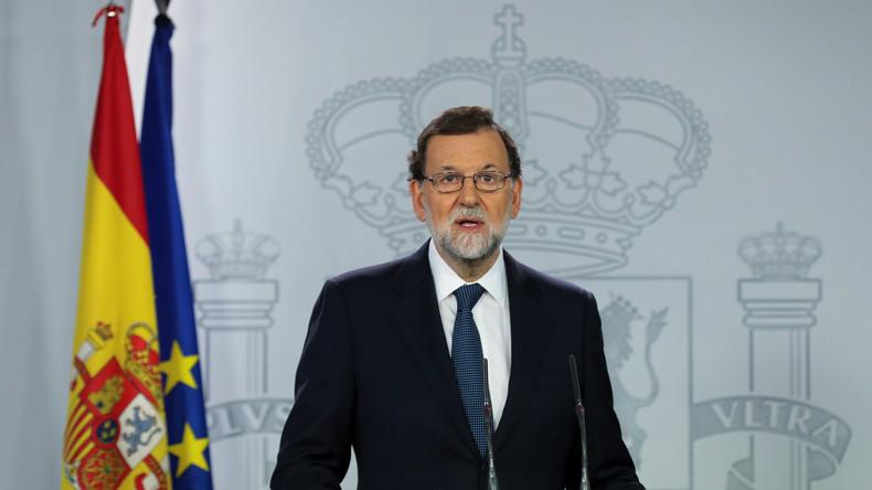 Spaniens Ministerpräsident Rajoy: Hat Katalonien Unabhängigkeit erklärt oder nicht?