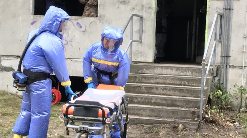 Berliner Polizei übt erstmals Großeinsatz bei Terrorangriff mit Biowaffen