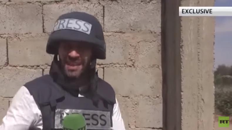 Exklusiv aus Syrien: RT-Reporter Gazdiev gerät mitten in Häuser-Kämpfe um Hatla