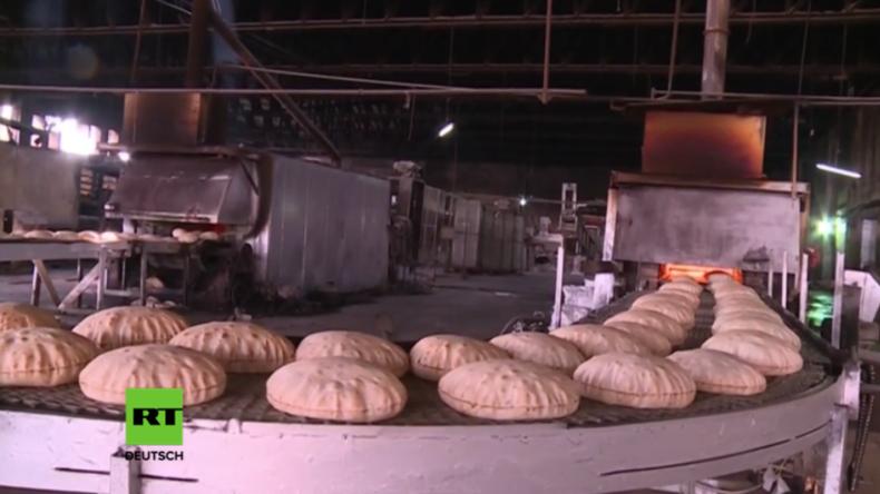 Syrien: Mehl aus Russland soll Brot für Bürger in Deeskalationszone von Homs sichern