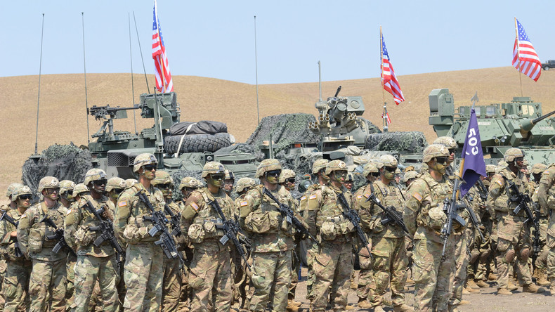 """Verstärkte NATO-Präsenz im Kaukasus: Militär-Manöver """"Noble Partner"""" unter US-Führung in Georgien"""