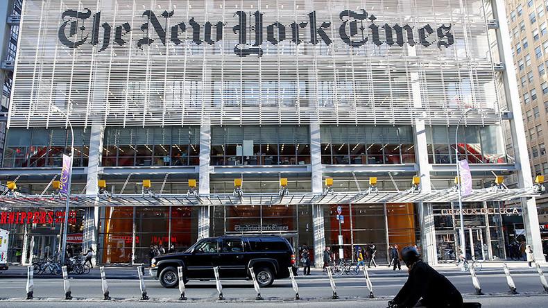 Journalistische Ethik: NYT-Redakteur schwindelt über Verbindung zu Comey und will Trump stürzen