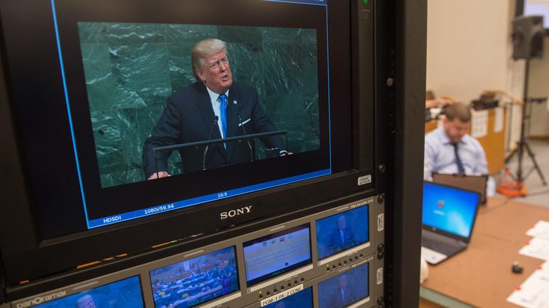 Wegen angeblicher Fake-News: Trump stellt Lizenz von US-Fernsehsender infrage