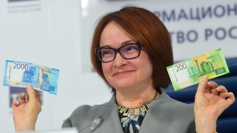 Russland: Neue Geldscheine im Wert von 200 und 2.000 Rubel vorgestellt