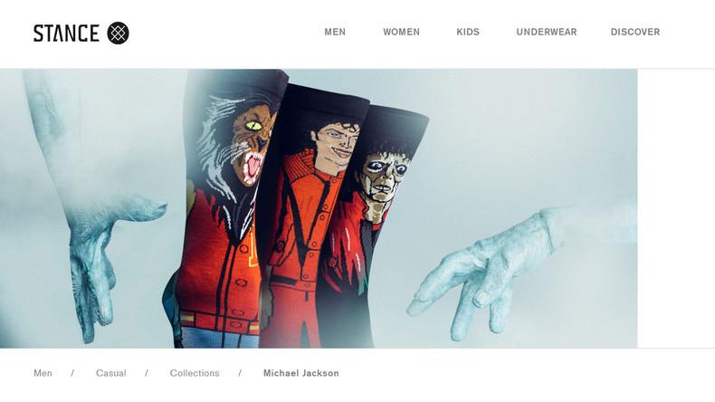 Michael Jackson erschreckt Fans auf Thriller-Socken zu Halloween