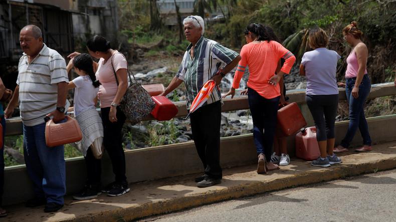 US-Präsident Donald Trump droht mit Hilfenkürzung für Puerto Rico
