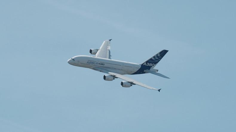 Über 50 Prozent aller A380-Flugzeuge nach Air-France-Zwischenfall in Prüfung geschickt