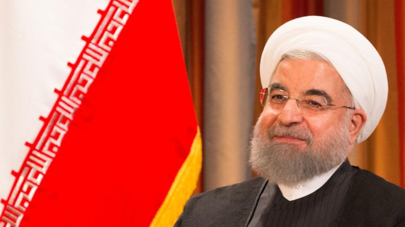 """Ruhani: Iran wird trotz Trumps """"Beleidigungen"""" am Atomdeal festhalten"""