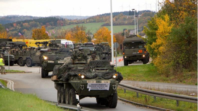 Exklusive Videos: NATO- und US-Operationen gegen Russland - Massive Militärbewegungen durch Sachsen