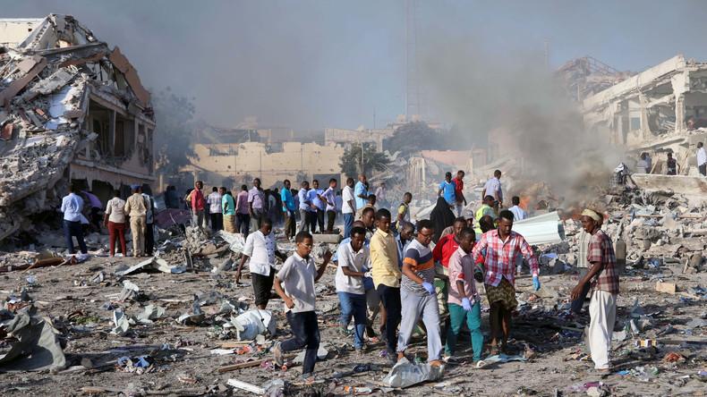 Terroranschlag in Mogadischu fordert mehr als 90 Menschenleben