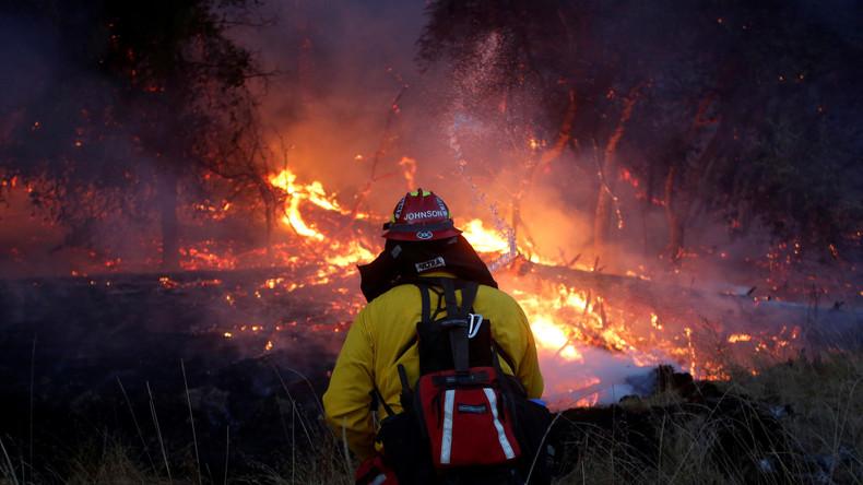 Feuer-Inferno in Nordkalifornien- mindestens 40 Tote