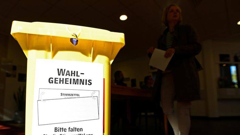 Hohe Wahlbeteiligung in Niedersachsens Kopf-an-Kopf-Rennen
