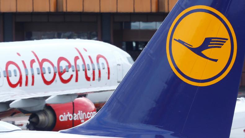 Verdi ruft zu Protestaktion bei Air Berlin auf