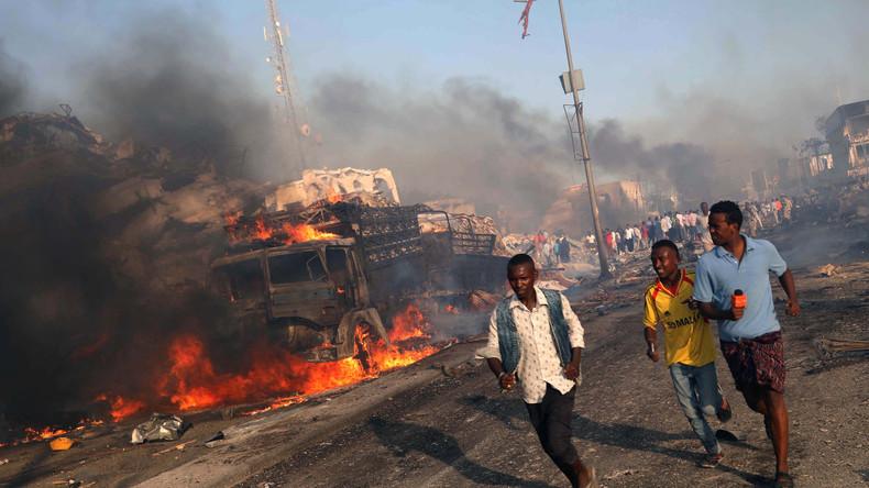 Zahl der Toten bei Selbstmordanschlag in Mogadischu steigt auf über 230