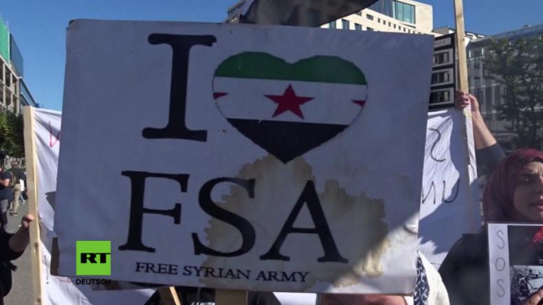 FSA-Anhänger organisieren weltweit und in deutschen Städten Proteste gegen Assad und Putin