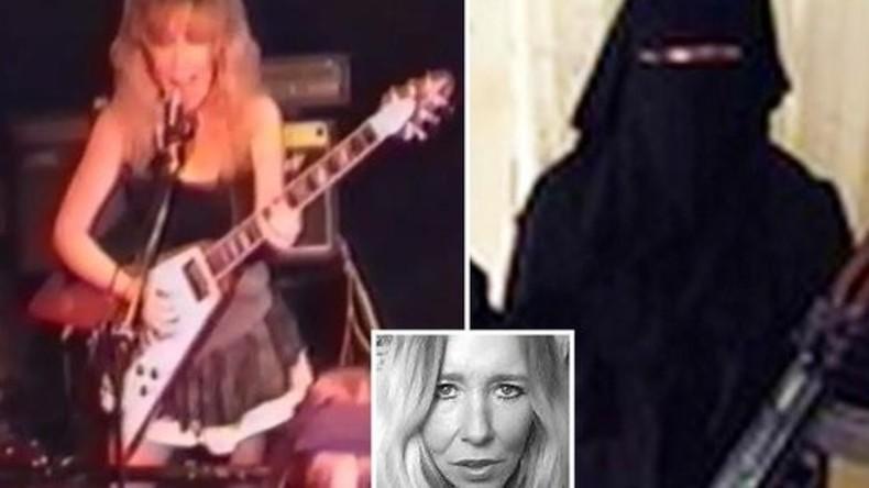 Britische IS-Dschihadistin Sally Jones unterrichtete zwölfjährigen Sohn, Feinde zu enthaupten