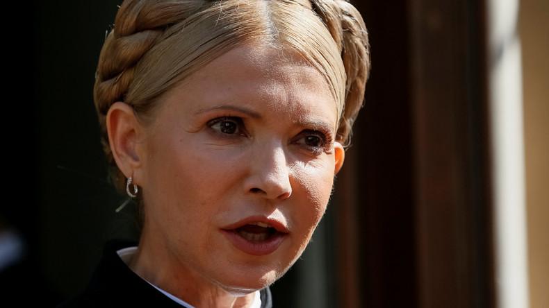 Timoschenkos Wahlspruch für 2019: Ich traue niemandem mehr und kandidiere selbst als Präsidentin