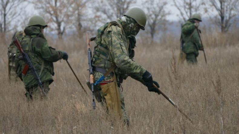 Volksrepublik Donezk: Minenräumung an Kontaktlinie kann neun Jahre in Anspruch nehmen
