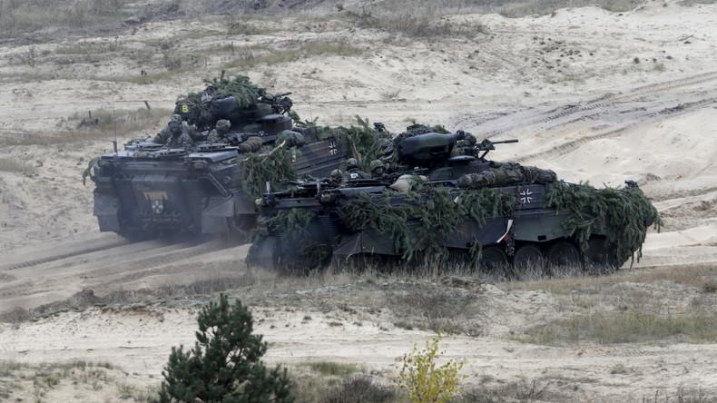 Militärübung mit deutschen Soldaten in Lettland gestartet