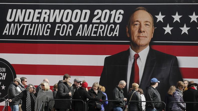 """Netflix-Serie """"House of Cards"""" soll russische Hacker zur Wahlmanipulation inspiriert haben"""