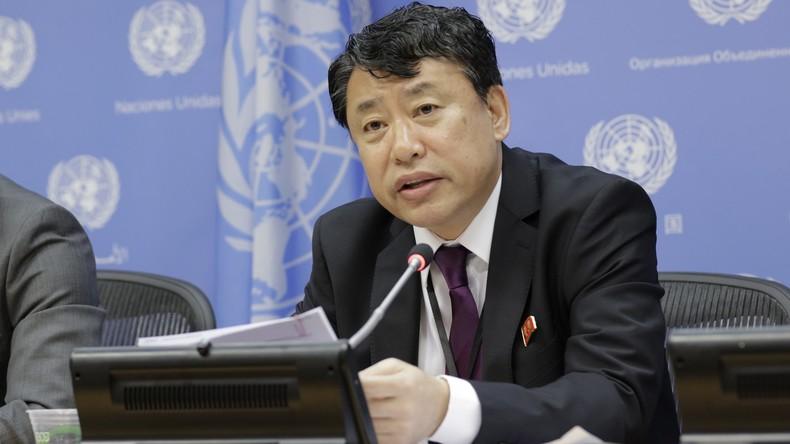 "Nordkoreanischer UN-Botschafter: ""Atomkrieg könnte jeden Moment ausbrechen"""